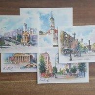 Belarus. 2017. Postcards. Cities Of Belarus. 5 Pieces - Belarus