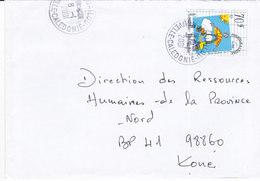 Nouvelle Calédonie, Lettre De HOUAILOU, 2001, ( NC48) - Neukaledonien