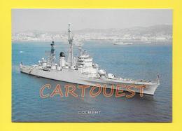 CPSM Marine Française - Croiseur  LE COLBERT  (D611) - Warships