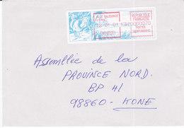 Nouvelle Calédonie, Lettre De KOUMAC, 2001, ( NC49) - Briefe U. Dokumente