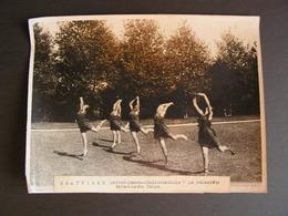 Photo Originale Henri Manuel Deauville La Palestra Ecole Privée D'athlétisme Dirigée Par Hebert La Danse Antique 44 - Sports