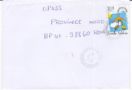 Nouvelle Calédonie, Lettre De HIENGHENE ANNEXE MOBILE, 2001, ( NC51) - Neukaledonien