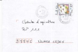 Nouvelle Calédonie, Lettre De BOURAIL, 2000, ( NC52) - Neukaledonien