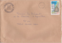Nouvelle Calédonie, Lettre De NOUMEA CTC, 2000, DIRECTION DU TRAVAIL( NC54) - Neukaledonien