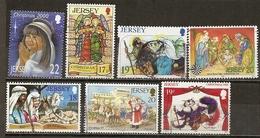 Jersey Collection Noel Christmas Obl - Postzegels