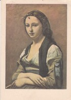 La Femme à La Perle  - J-B Corot - Cartes Postales De La Loterie Nationale - Pintura & Cuadros