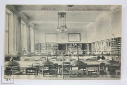 Postcard Germany - Köln - Cöln - Rhein - Lesezimmer Der Handels Hochschule - School - Library - Koeln