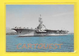 CPSM Marine Française - Le Porte-avions FOCH - Guerre