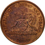 Monnaie, TRINIDAD & TOBAGO, Cent, 2000, Franklin Mint, TTB, Bronze, KM:29 - Trinité & Tobago