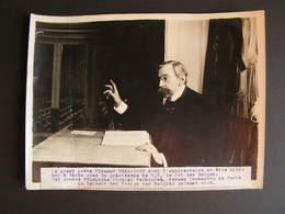 Photo Originale Henri Manuel 1920 Le Poete Flamand Belge Emile Verhaeren 54 - Célébrités
