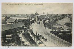 Postcard Germany - Die Rheinbrücken Bei Kehl - Khel, Bridges Over The Rhin River - Kunstverlag - Freiburg I. Br.