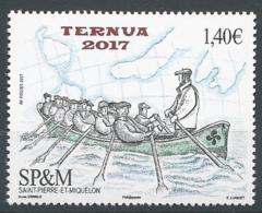 SPM 2017 - La Trainière Traditionnelle - Unused Stamps