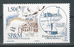 """SPM 2017 -  Explosion Du Navire """"Mont Blanc"""" à Halifax - St.Pierre Et Miquelon"""