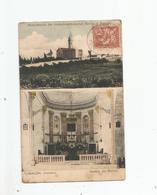 RAMLEH (RAMLA) PALESTINA INNERES DER KIRCHE. HINTERANSICHT DER ROMISCH KATHOLISCHEN KIRCHE . CACHET JAFFA PALESTINE 1907 - Israele