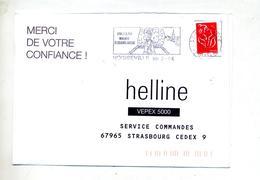 Lettre Flamme Noisseville Monument Souvenir Français - Storia Postale