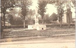 Dépt 80 - MÉHARICOURT - ÉPREUVE De CARTE POSTALE (photo R. LELONG) + PLAQUE De VERRE D'origine - Monument - Éd. Leclercq - France