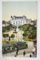 Postcard France - Strassbourg Place Kléber - Strasbourg Square - Trams - Hartmann VII 1872 - Strasbourg