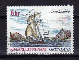 GROENLAND Greenland 2002 Bateau Ship Yv 362 Obl - Groenland