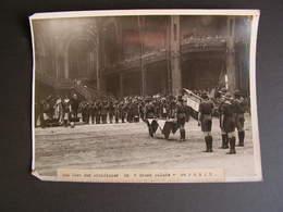 Photo Originale Henri Manuel 1920 La Fete Des Scouts Boy Scout Au Grand Palais Paris 67 - Célébrités