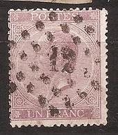 OBP 21 Met Kamtanding 15/15 - 1865-1866 Profil Gauche