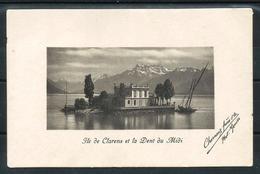 CPA Neuve - Ile De Clarens Et Dent Du Midi - VD Vaud