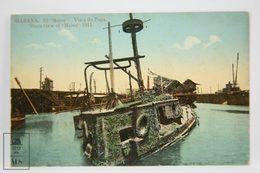Early 20th Century Postcard Republic Of Cuba - Habana - View Of The Maine 1911 - Nº 16 - Cuba
