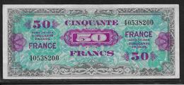 France - 50 Francs FRANCE - Fayette N°24-1 - TTB - 1944 Drapeau/France