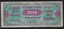 France - 50 Francs FRANCE - Fayette N°24-1 - TB - 1944 Drapeau/France