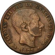 Monnaie, Espagne, Alfonso XII, 10 Centimos, 1979, Madrid, TB+, Bronze, KM:675 - [ 1] …-1931 : Royaume
