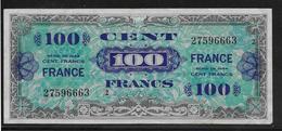 France - 100 Francs FRANCE Série 2 - Fayette N°25-2 - TTB - 1944 Drapeau/France