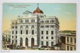 Postcard Republic Of Cuba - Habana - Produce Exchange - Lonja Del Comercio - Nº 19 - - Cuba