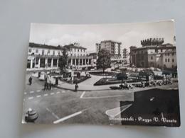 CARTOLINA MONTEVARCHI - PIAZZA V. VENETO - Arezzo