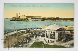 Postcard Republic Of Cuba - Habana - Malecon Y Morro - Nº 41 - Animated - Cuba