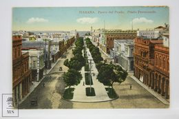 Postcard Republic Of Cuba - Habana - Paseo Del Prado - Promenade - Nº 71 - Early 20th Century - Cuba
