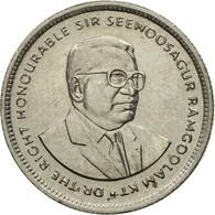 Monnaie, Mauritius, 20 Cents, 1996, TTB, Nickel Plated Steel, KM:53 - Mauritius