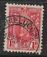 Southern Rhodesia, (E)NKELDOORN 18 APR 35, On Field Marshall, 1d - Southern Rhodesia (...-1964)