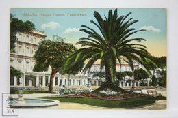 Postcard Republic Of Cuba - Habana - Central Park - Parque Central - Nº 3 - Early 20th Century - Cuba