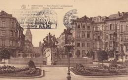 Antwerpen :  Standbeeld Lambermont - Antwerpen
