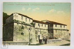 Postcard Republic Of Cuba - Habana - Castillo De La Fuerza - Fort - Nº 34 - Early 20th Century - Cuba
