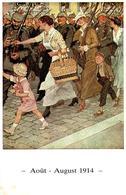 CPSM Août 1914 - La Mobilisation En Allemagne - Mémorial De Verdun - August 1914 - Mobilmachung In Deutschland - Verdun - Oorlog 1914-18