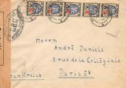 Zone D'Occupation Française - Lettre Affranchie Postée De Wurttemberg Pour Paris - France (ex-colonies & Protectorats)