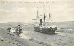 """EGYPTE , S/S """" Natal """" Croisant Une Dague Dans Le Canal De Suez , * 262 98 - Egitto"""