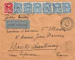 Indochine - Lettre Affranchie De 1931 Pour Nantes Chantenay (44) - Indochine (1889-1945)
