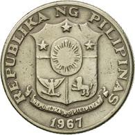 Monnaie, Philippines, 25 Sentimos, 1967, TTB, Copper-Nickel-Zinc, KM:199 - Philippines