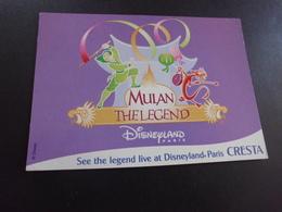 MULAN ...THE LEGEND... DISNEYLAND PARIS - Disneyland