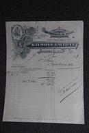 Facture Ancienne - SEPTFONDS, Raymond LAFFONT, Manufacture De Chapeaux De Paille - France