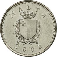 Monnaie, Malte, 2 Cents, 2002, TB+, Copper-nickel, KM:94 - Malta