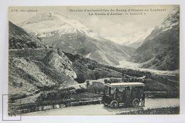 Postcard France - Dauphine - Bus Service - Service Automobiles Bourg D'Oisans Au Lautaret - Valle Arsine - Rivière E.R. - Grenoble
