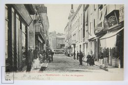 Postcard France - Perpignan - Perpiñan - La Rue Des Augustins - Animated Street - Brun Frères - Prades