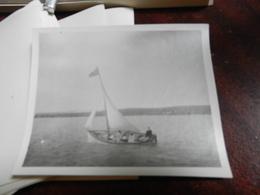 18841) FOTO DI BARCA A VELA  IN NAVIGAZIONE - Barche